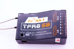 Приемник FrSky, 8 каналов, TFR8 SB 8ch 2.4Ghz S.BUS Receiver FASST Compatible