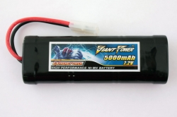 Аккумулятор Ni-MH, 7.2v, 5000 mAh, 15C, Giant Power