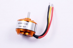 Мотор outrunner brushless 2822, 1400KV, HM model A2208-14